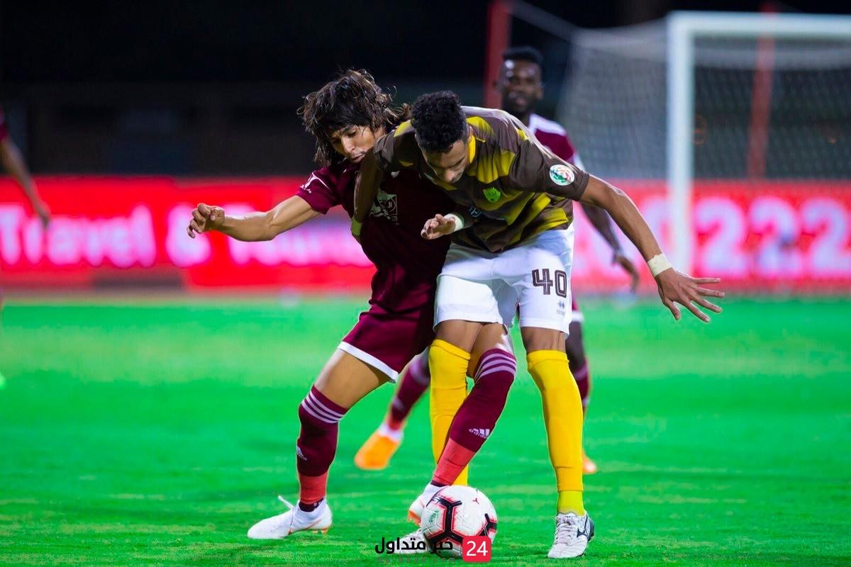 الفوز بفارق هدفين الفيصلي ضد أُحد في دوري محمد بن سلمان للمحترفين