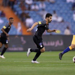 النصر الفوز بهدف ضد الشباب في كاس دوري الامير محمد بن سلمان للمحترفين