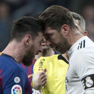 برشلونة يهزم ريال مدريد بهدف