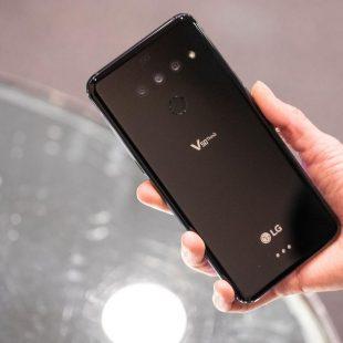 مواصفات جهاز إل جي الذي يقدم أول هاتف يدعم بصمة الأوردة