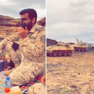 فيديو : مرابطون يتلقون بلاغاً عن هدف عسكري ويباشرون استهدافه خلال لحظات